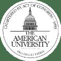 American University school logo