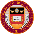 Boston College school logo
