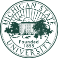 Michigan State University school logo