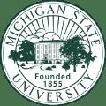 Michigan State University school logo