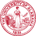 University of Alabama school logo