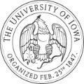 University of Iowa school logo