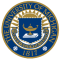 University of Michigan school logo