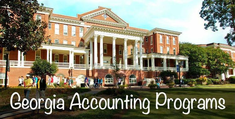 georgia accounting programs