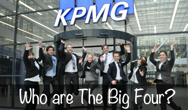 who ar ethe big four accounting firms